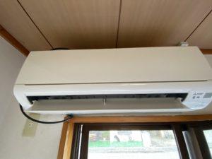エアコンクリーニング MITSUBISHI MSZ-GV4017S-W
